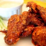 Receita de Hot smoked wings no Fryer